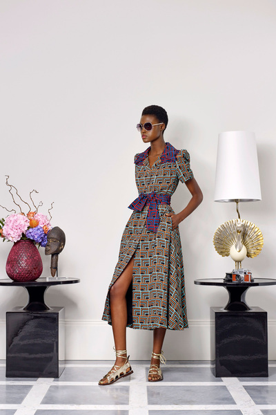 Duro Olowu Spring 2018 Ready-to-Wear - Look #3