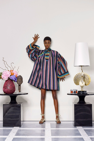 Duro Olowu Spring 2018 Ready-to-Wear - Look #5