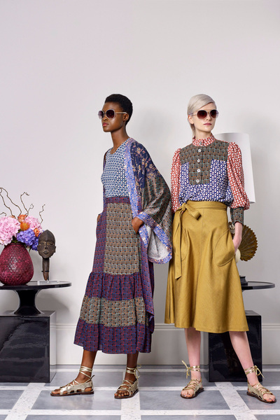 Duro Olowu Spring 2018 Ready-to-Wear - Look #6