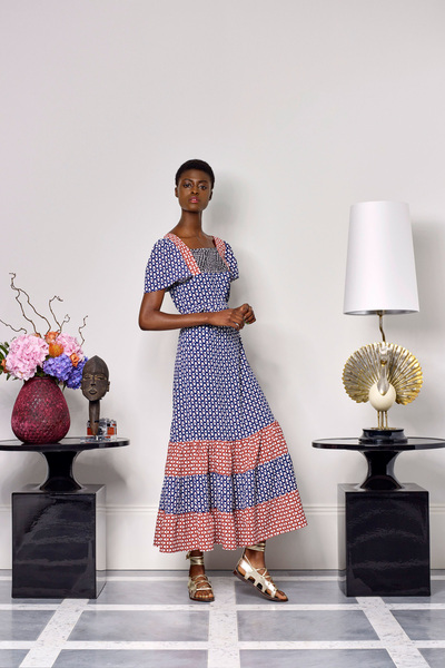 Duro Olowu Spring 2018 Ready-to-Wear - Look #8