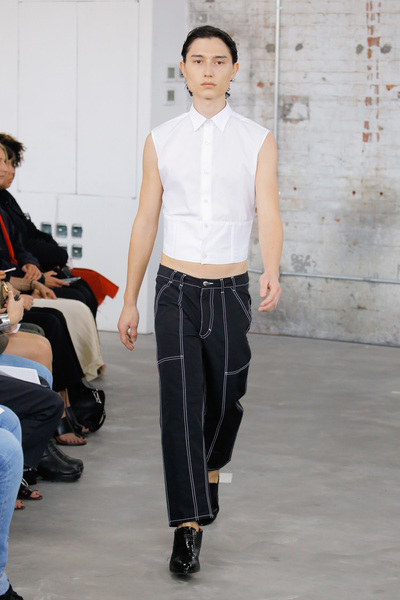 Eckhaus Latta Spring 2018 Ready-to-Wear - Look #6