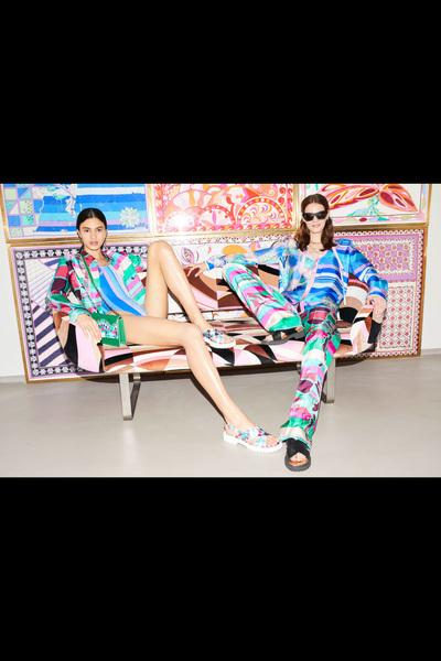 Emilio Pucci Resort 2018 - Look #15