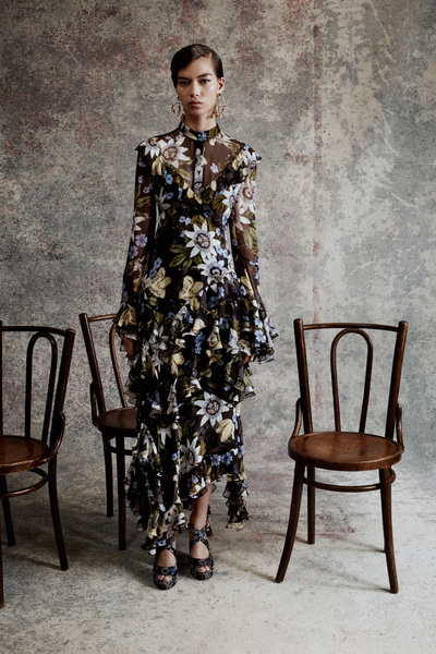 Erdem Resort 2018 - Look #13