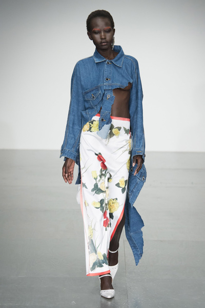 Faustine Steinmetz Spring 2018 Ready-to-Wear - Look #10