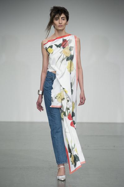 Faustine Steinmetz Spring 2018 Ready-to-Wear - Look #12