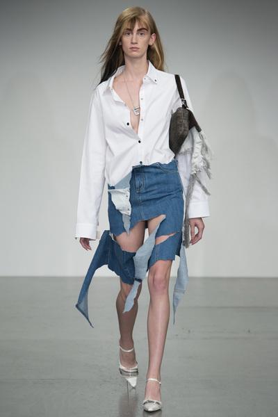 Faustine Steinmetz Spring 2018 Ready-to-Wear - Look #13