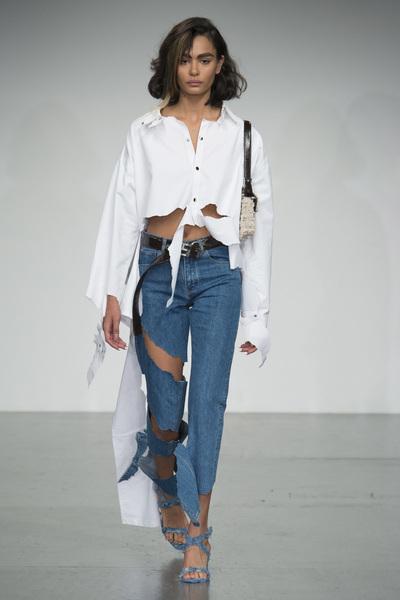 Faustine Steinmetz Spring 2018 Ready-to-Wear - Look #14