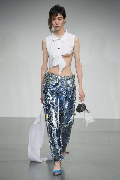 Faustine Steinmetz Spring 2018 Ready-to-Wear - Look #15