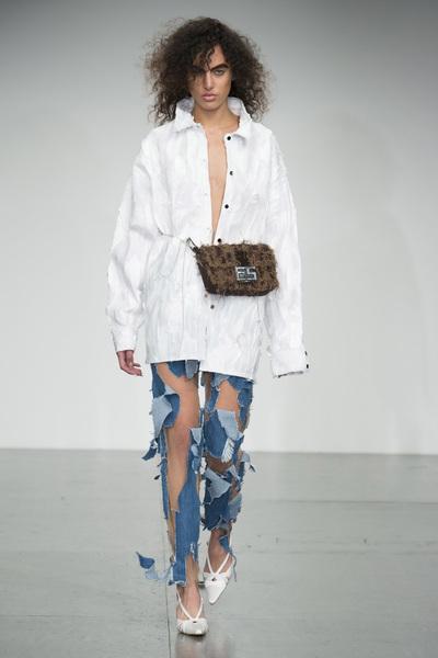 Faustine Steinmetz Spring 2018 Ready-to-Wear - Look #17