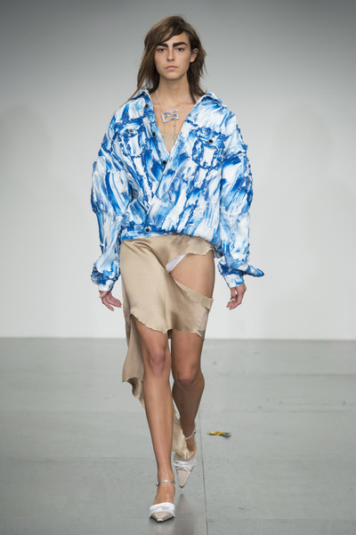 Faustine Steinmetz Spring 2018 Ready-to-Wear - Look #20