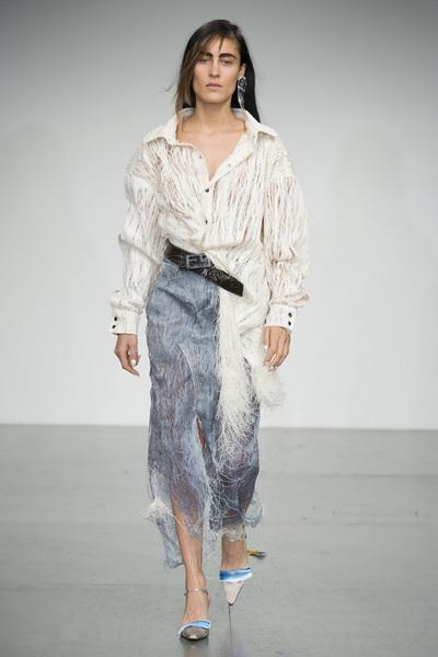 Faustine Steinmetz Spring 2018 Ready-to-Wear - Look #21