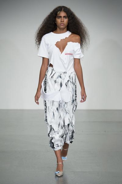 Faustine Steinmetz Spring 2018 Ready-to-Wear - Look #5