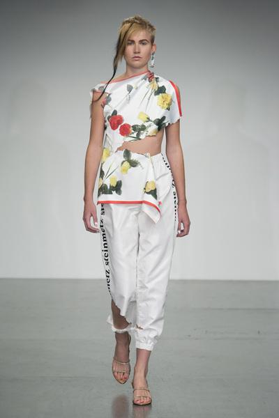 Faustine Steinmetz Spring 2018 Ready-to-Wear - Look #7