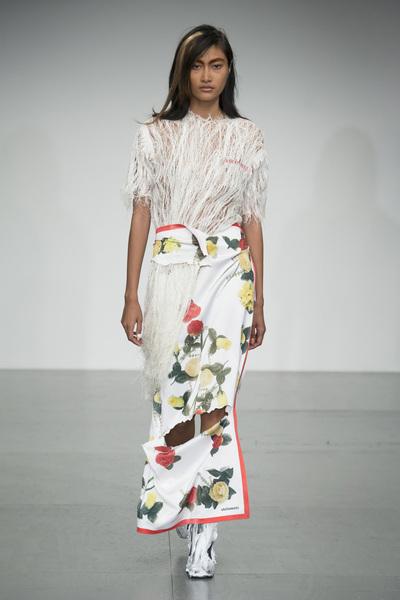 Faustine Steinmetz Spring 2018 Ready-to-Wear - Look #8