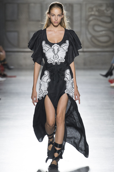 Fausto Puglisi Spring 2018 Ready-to-Wear - Look #17