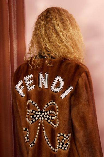 Fendi Resort 2018 - Look #9