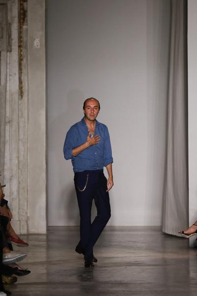 Francesco Scognamiglio Spring 2018 Ready-to-Wear - Look #32