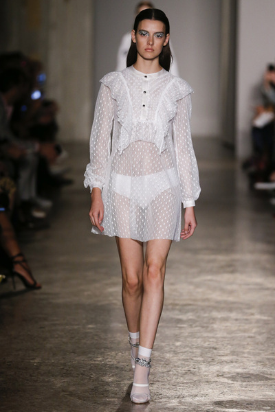 Francesco Scognamiglio Spring 2018 Ready-to-Wear - Look #4