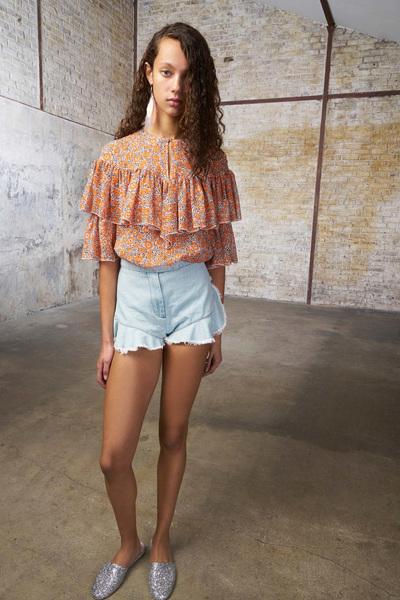 GIAMBA Spring 2018 Ready-to-Wear - Look #6