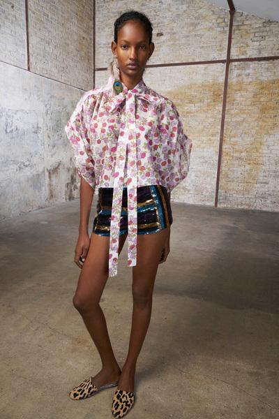 GIAMBA Spring 2018 Ready-to-Wear - Look #9