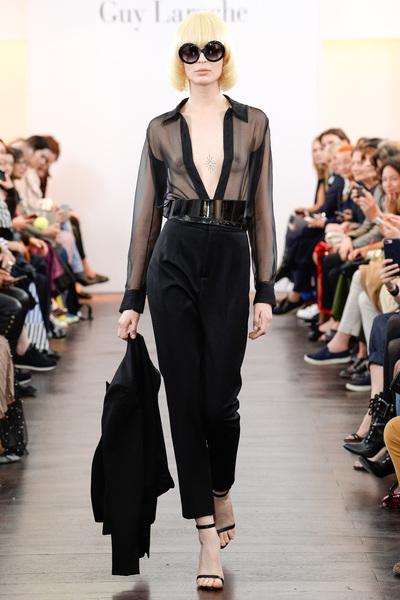 Guy Laroche Spring 2018 Ready-to-Wear - Look #1