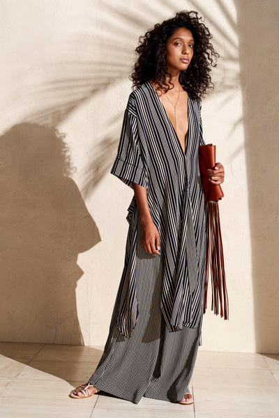 HALSTON HERITAGE Spring 2018 Ready-to-Wear - Look #1