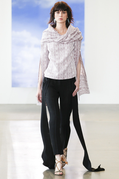Hellessy Spring 2018 Ready-to-Wear - Look #24