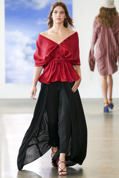 Hellessy Spring 2018 Ready-to-Wear - Look #9