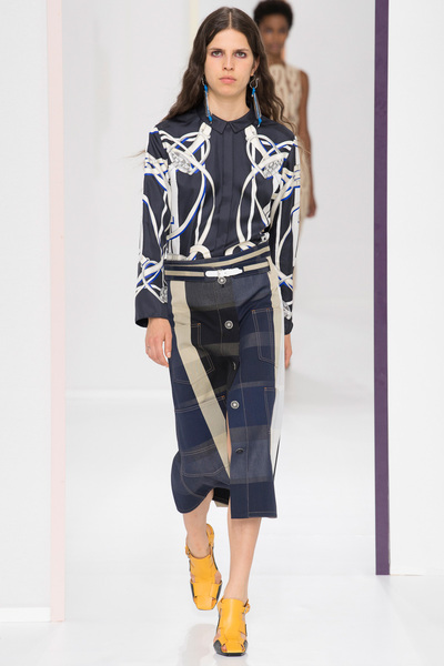HERMÈS Spring 2018 Ready-to-Wear - Look #24