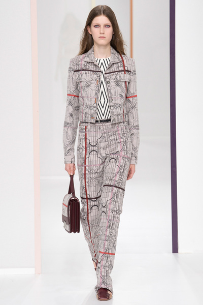 HERMÈS Spring 2018 Ready-to-Wear - Look #40