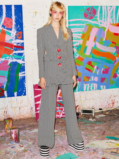 House Of Holland Resort 2018 - Look #1