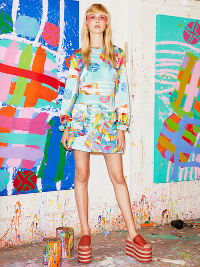 House Of Holland Resort 2018 - Look #24