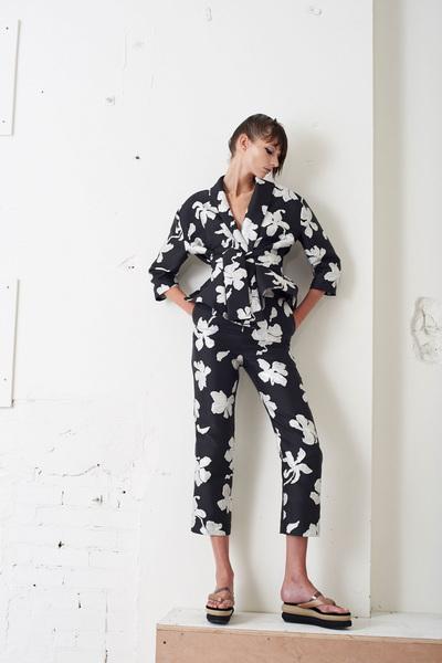 Isa Arfen Spring 2018 Ready-to-Wear - Look #10