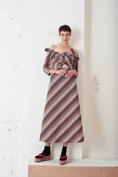 Isa Arfen Spring 2018 Ready-to-Wear - Look #13