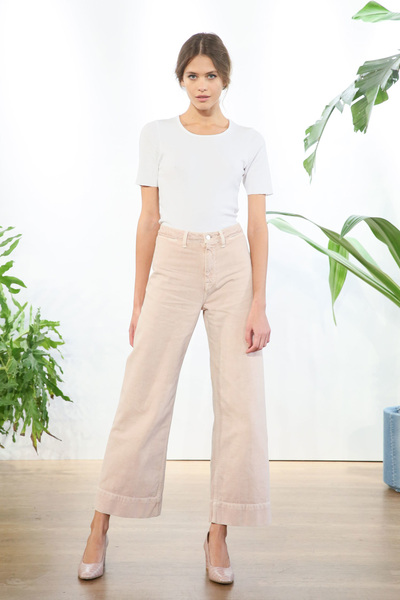 J BRAND Spring 2018 Ready-to-Wear - Look #1