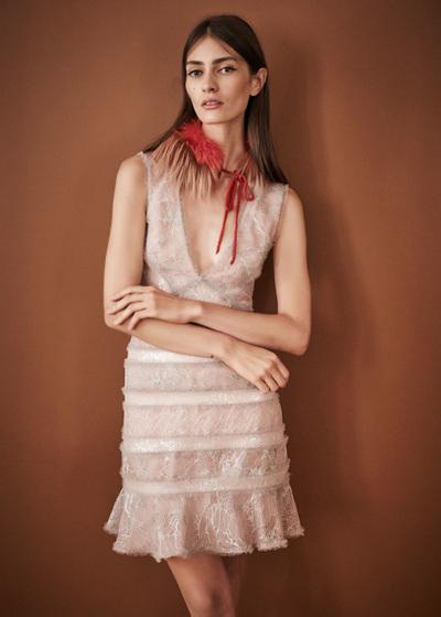 J. Mendel Spring 2018 Ready-to-Wear - Look #11