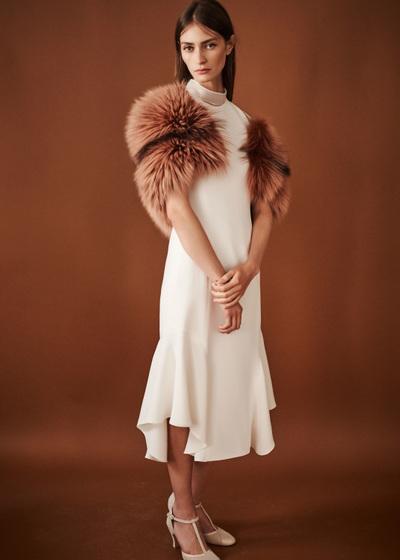 J. Mendel Spring 2018 Ready-to-Wear - Look #3