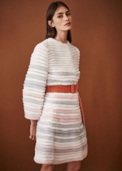 J. Mendel Spring 2018 Ready-to-Wear - Look #8