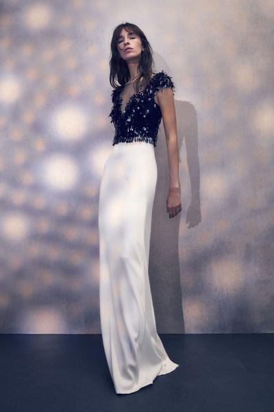 Jenny Packham Spring 2018 Ready-to-Wear - Look #24