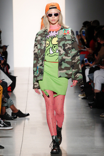Jeremy Scott Spring 2018 Ready-to-Wear - Look #11