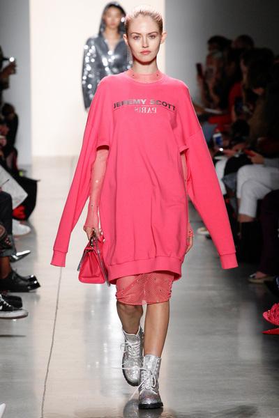 Jeremy Scott Spring 2018 Ready-to-Wear - Look #22