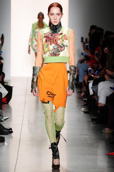 Jeremy Scott Spring 2018 Ready-to-Wear - Look #27