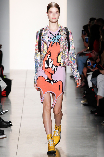 Jeremy Scott Spring 2018 Ready-to-Wear - Look #30