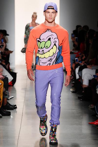 Jeremy Scott Spring 2018 Ready-to-Wear - Look #33