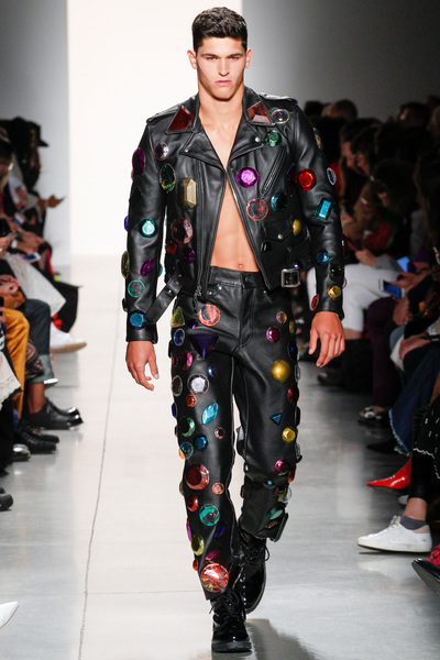 Jeremy Scott Spring 2018 Ready-to-Wear - Look #50