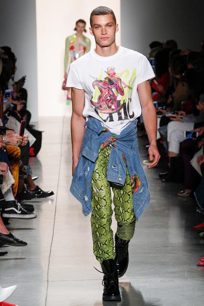 Jeremy Scott Spring 2018 Ready-to-Wear - Look #7