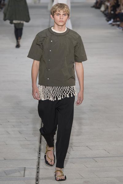 Jil Sander Spring 2018 Ready-to-Wear - Look #35
