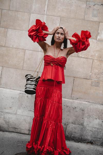 Johanna Ortiz Spring 2018 Ready-to-Wear - Look #11