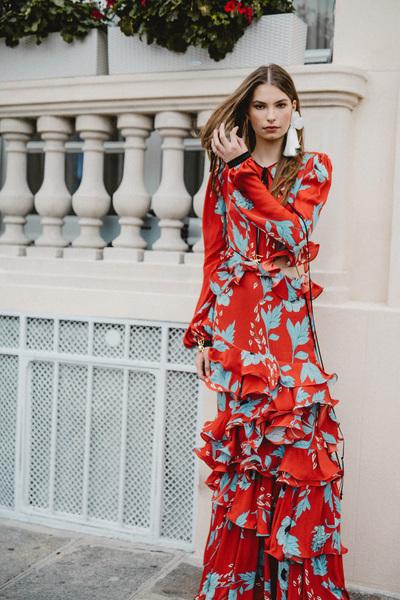 Johanna Ortiz Spring 2018 Ready-to-Wear - Look #15