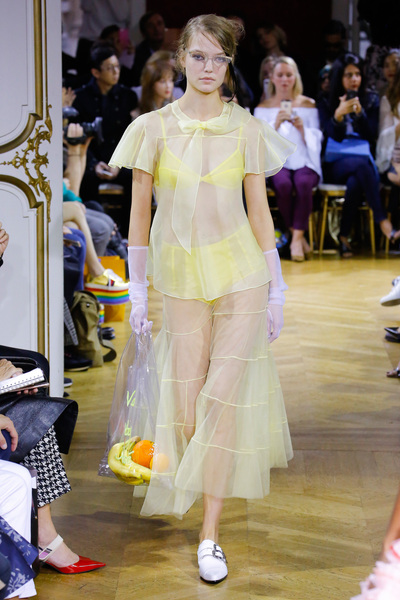 John Galliano Spring 2018 Ready-to-Wear - Look #11